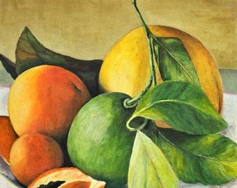Lemons and Limes Giclee Print