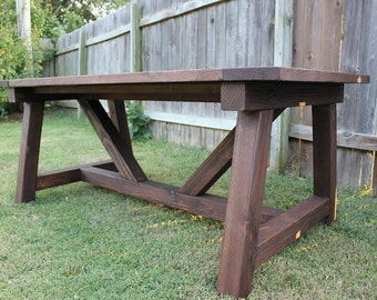 Classic Farmhouse Dining Table