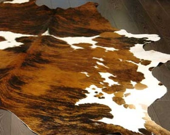 Tricolor Cowhide Rug Cow Hide Rugs on Sale!