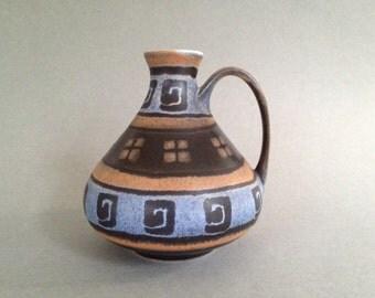 Dümler & Breiden  1380 / 15 Stunning  Vase  from the 1970s West Germany ceramic. WGP.