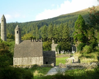 Glendalough Stone Church Ruin & Cemetary 1