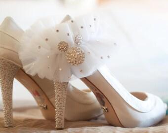 Disney inspired wedding Garter