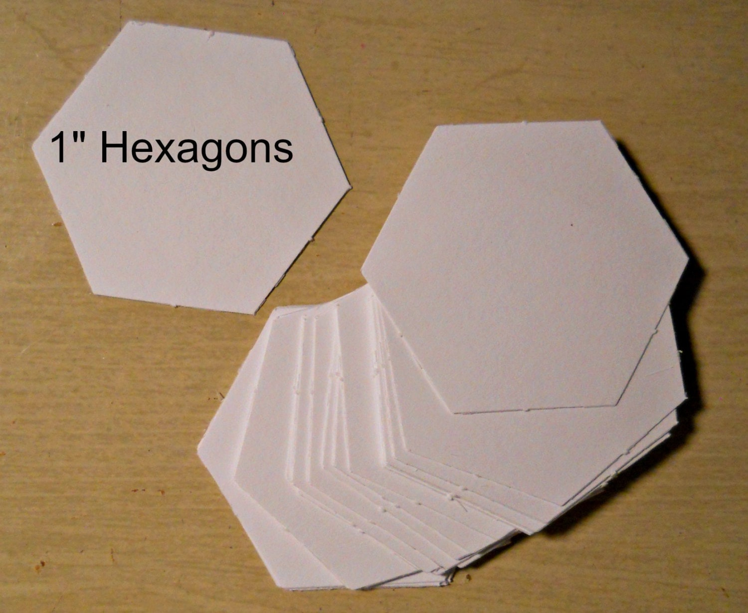 free english paper piecing hexagon templates - 100 1 inch hexagon cardstock english paper piecing templates
