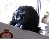 Blueberry, Blue Eyed Piglet Monster Plush