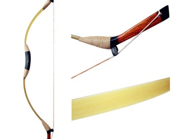 DIY Green Longbow Handmade Longbow Traditional Archery Bows Hunting Bow Fiberglass longbow 20-70lbs