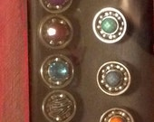 Bearing Ring/.Derby Wife Rings. Adjustable and None tarnishing ring base with various gem options!