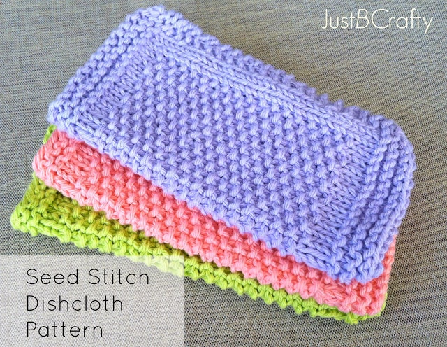 Knitted Dishcloth Patterns Wedding : Knit Dishcloth Patterns - The Wedding Cloths - priorityho