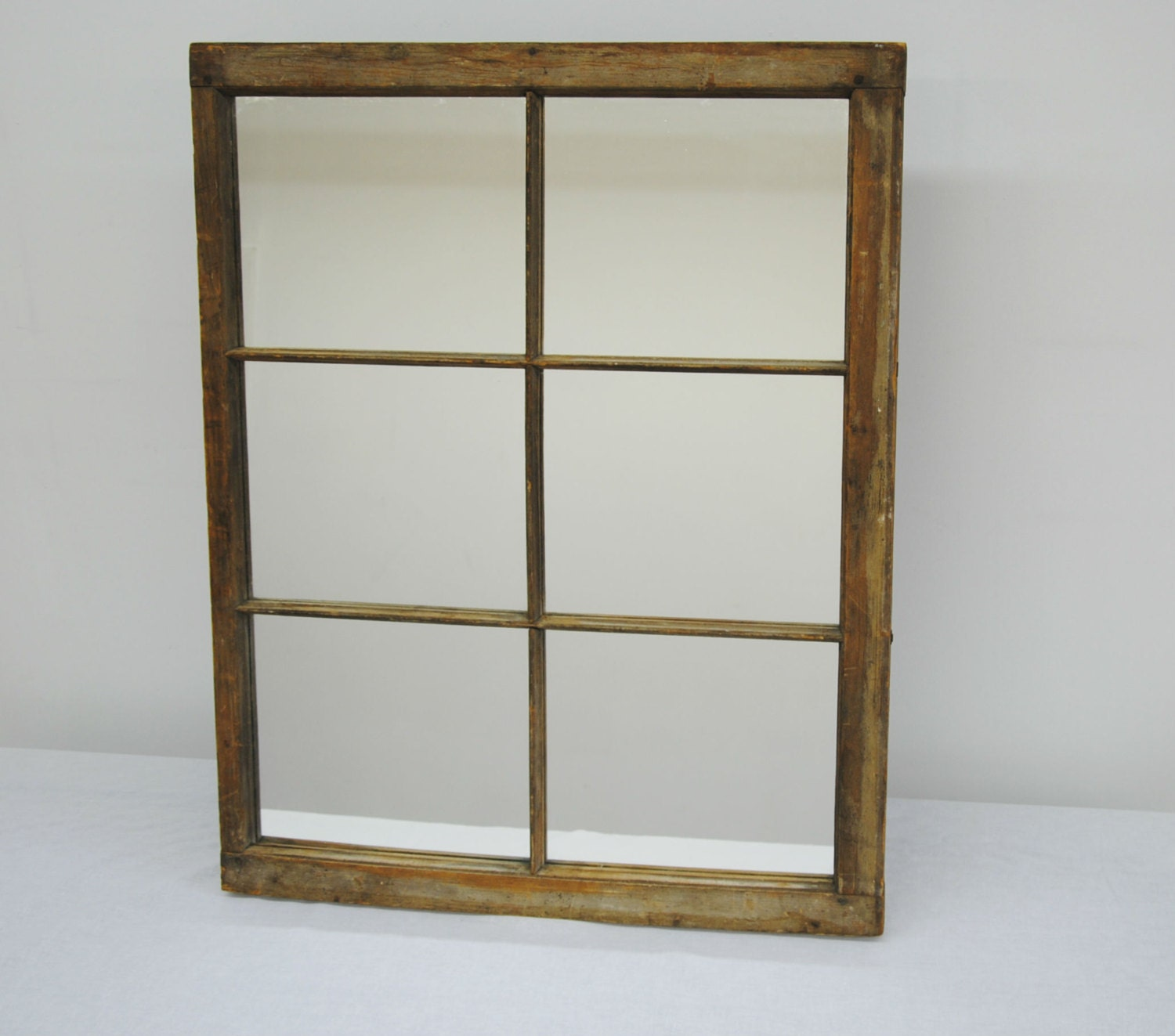 Mirrors with wood frame