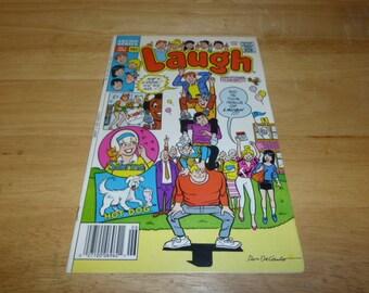 Archie LAUGH Comic Book #1 Vintage 80'S