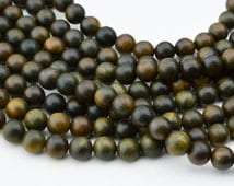 108PC  Natural Slight  Fragrant  Green Sandalwood 8MM  Mala Finding, Buddhism Bead , Wood Bead