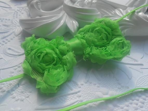 Green Bow Baby Headband, Newborn Headband,  Infant Headband,Baby Headband, Headband Baby, Baby Headband