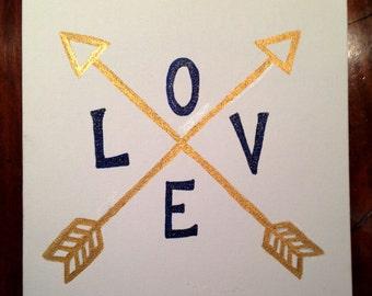 Arrow of Love 10x10 Print