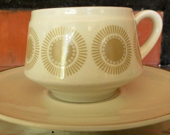Arabia of Finland, Bellis Coffee cup and saucer.