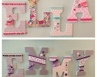 Custom Name Letters - made to order