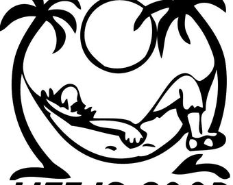 Life Is GOOD Decal free shipping