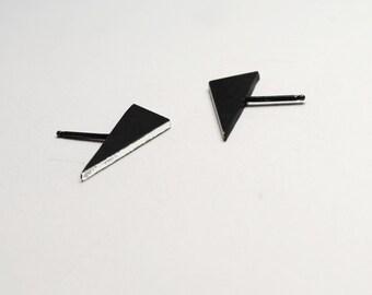 Triangle Slice earrings