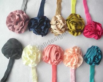 U Pick Wholesales Rose Flower Headband Baby Headbands. Newborns Headbands. Girl's Headband YTH24