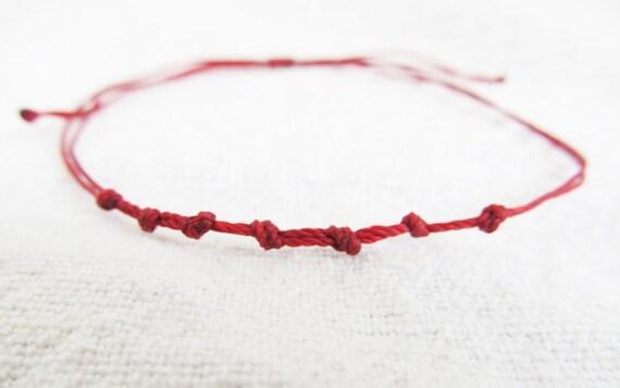 Women S Red String Bracelet Red Thread Kabbalah String