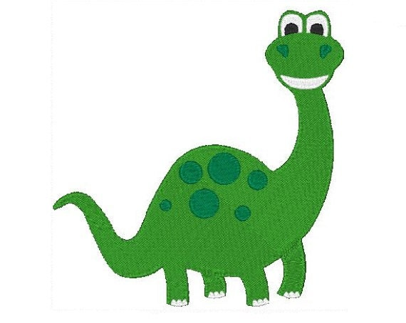 Dinosaur Machine Embroidery Design Dinosaur Design Dinosaur Embroidery 4X4 5X7 Instant Download