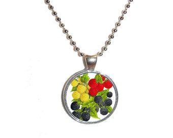 Antique Berries Necklace - Made to Order