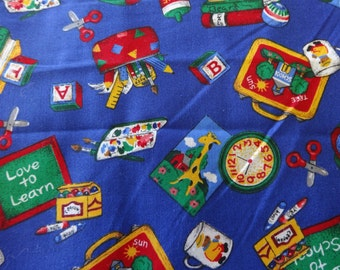 VIP Exclusive Back to School Fabric 288