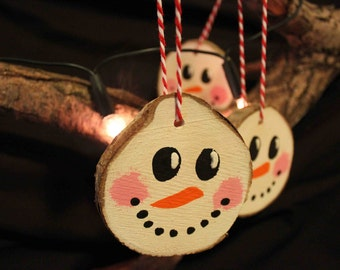 Hanging Snowman Decoration