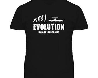 Kayaking Canoe Evolution T Shirt