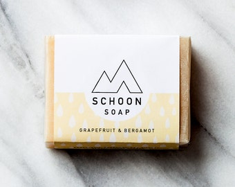 Grapefruit & Bergamot Soap