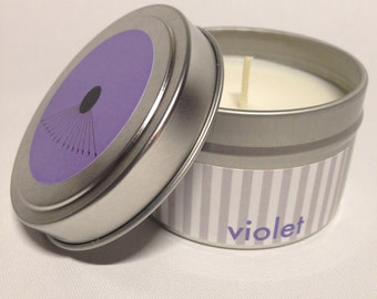Violet Candle By ATeN