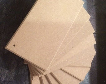 30 MDF Plaques/signs 200mm x 100mm x 9mm