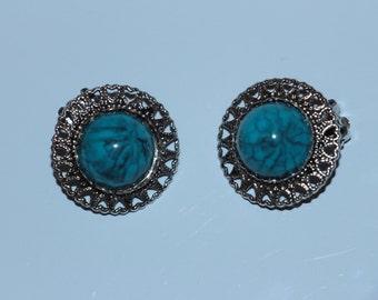 Southwestern Inspired Vintage Earrings