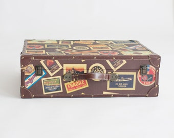 Vintage Suitcase great for travel or photo props