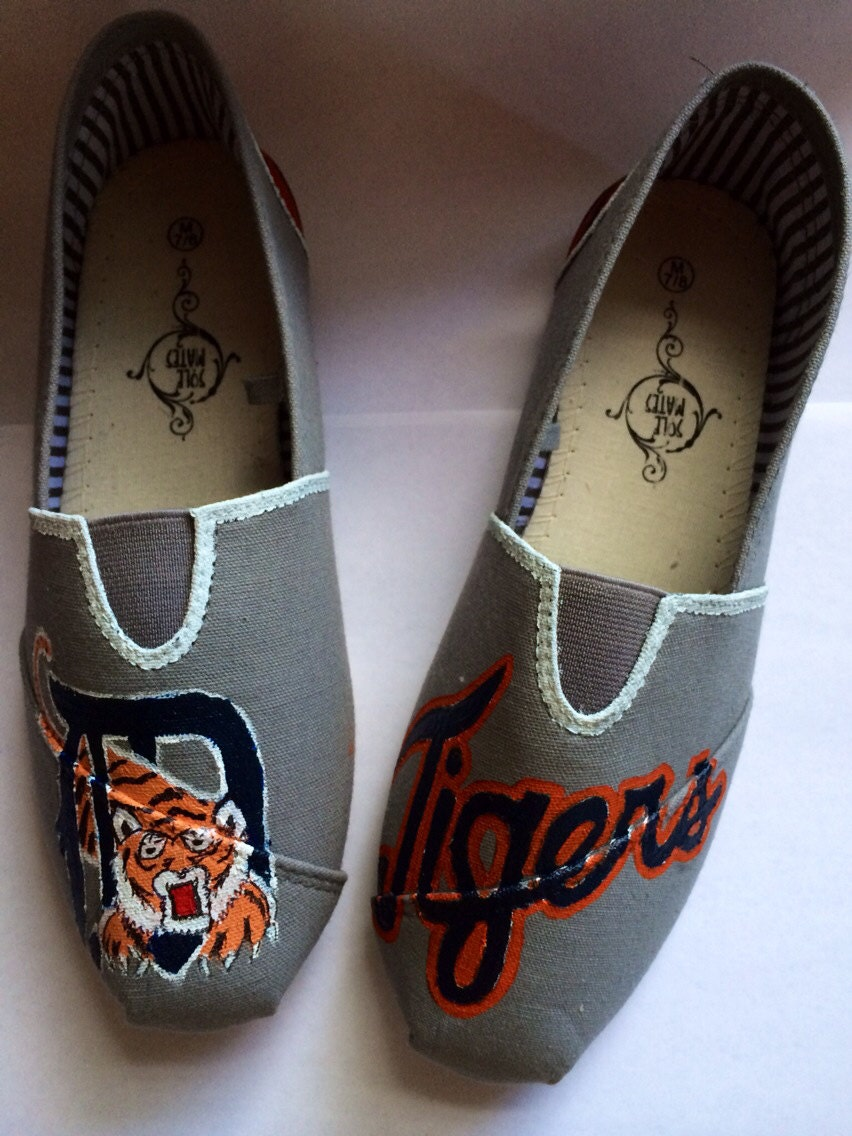 sports team detroit tigers toms and brand shoes