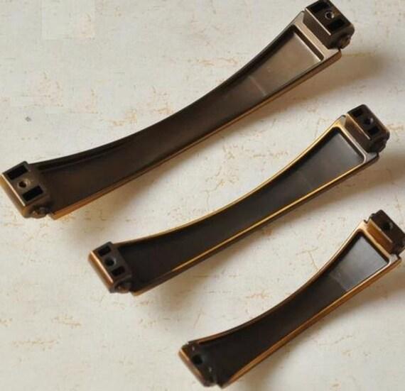 French Provincial Kitchen Door Handles: Dresser Knobs Pulls Drawer Pull Handles Gold Brass