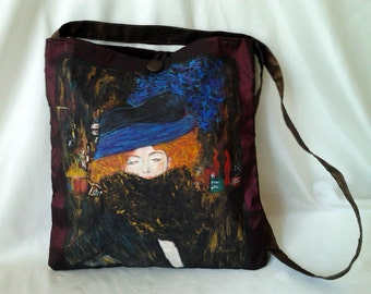 "Painted Bag ""Klimt"""