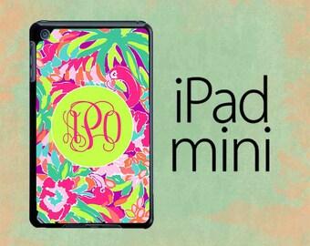 Monogram iPad Mini Case Lilly Pulitzer Inspired iPad Mini 2 Case Personalized iPad Mini Case