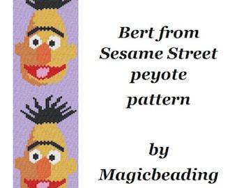 Bert Peyote Pattern Sesame Street Pattern Sesame Street