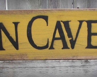 Iowa Hawkeye Man Cave Wood Sign - Father's Day