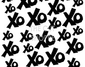 This XO Background Cut File is available in two sizes, 12x12 and 8.5x11.