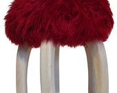 "Sheep Skin ""Patagonia"" Stool"
