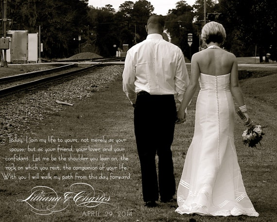 Valentine Wedding Vows Keepsake Perfect For By