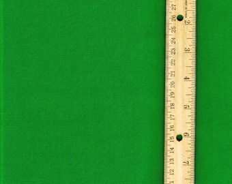 Solid Kelley Green Fabric, Fabric by the Yard,  woven cotton fabric, quilting fabric, sewing fabric, green fabric