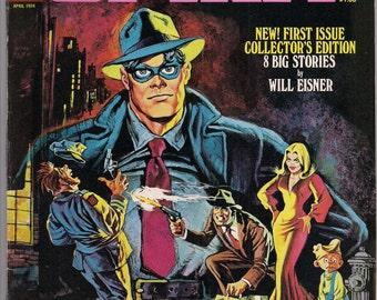The SPIRIT #1 1974 Will Eisner Warren Publications Interior by color by Rich Corben
