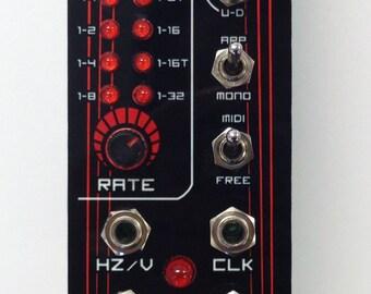 Arp-8: MIDI controlled Arpeggiator ( Eurorack )