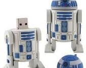Star Wars R2D2 Robot usb Flash Drive 8GB (Free & Immediate Shipping)