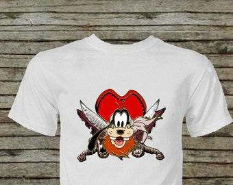 Pirate Goofy Iron On Transfer Instant Download