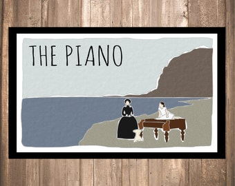 INSTANT DOWNLOAD - The Piano Print
