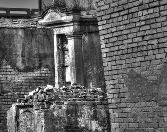 St Louis Cemetery #2, New Orleans  B&W