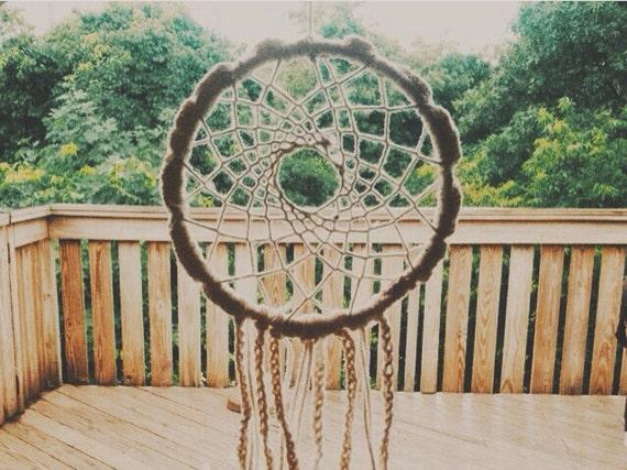 Daisy Del Sol Handmade Crochet Dreamcatcher Home Decor