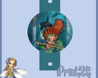 Sea Princess Straw Topper